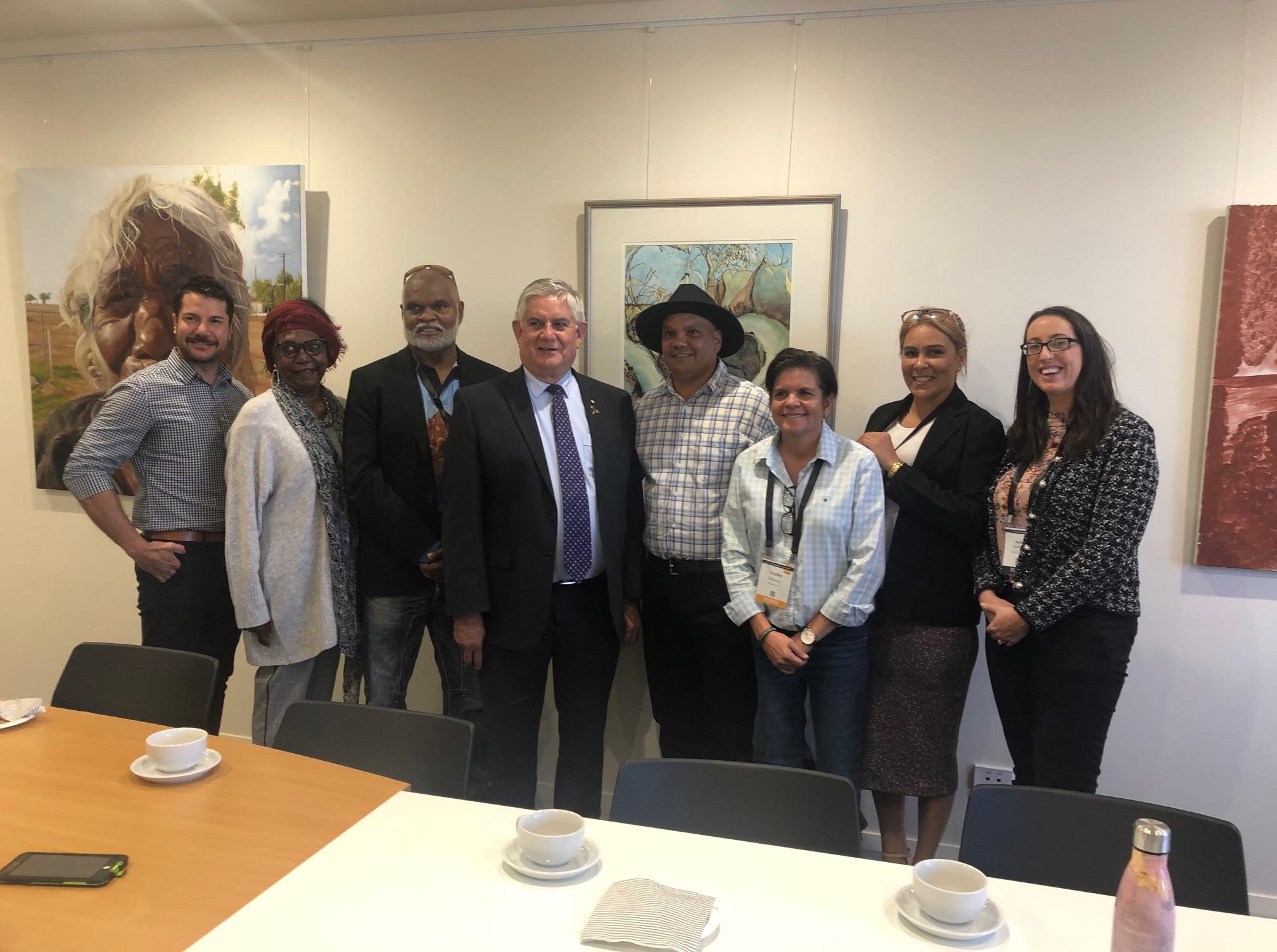 Meeting with The Hon. Ken Wyatt MP